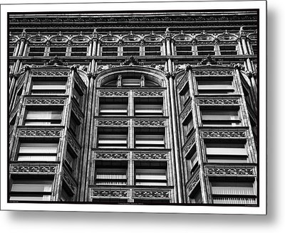 Fisher Building - 10.11.09_028 Metal Print by Paul Hasara