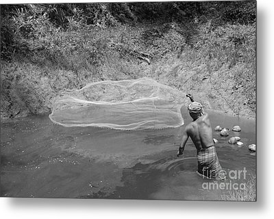 Fisher Man  Metal Print by Bobby Mandal