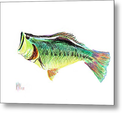 Fishermans Delight Metal Print by Kip DeVore