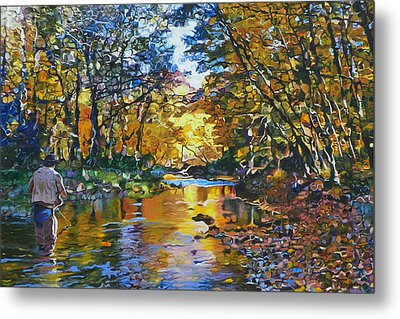Fisherman's Dream Metal Print