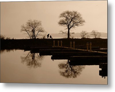 Fisherman's Friend Metal Print by John Jacquemain