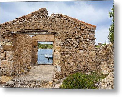 Fishermen's House Metal Print by Antonio Macias Marin