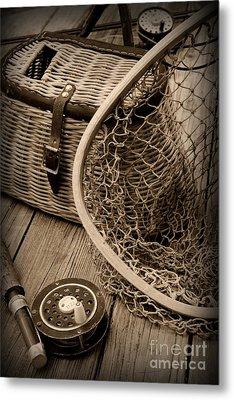 Fishing - All That Gear Metal Print