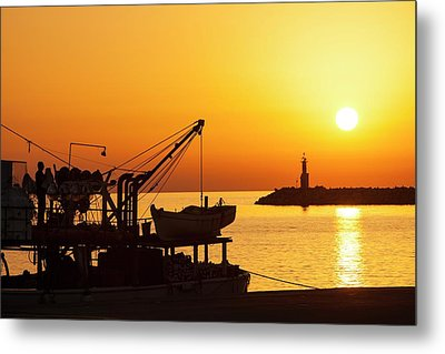 Fishing Boat Metal Print by Ashley Cooper