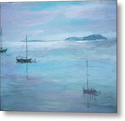 Fishing Boats Metal Print by Dorothy Herron