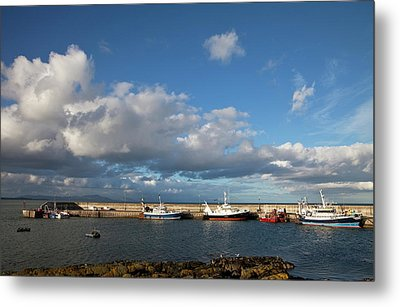 Fishing Boats Inthe Newly Renovated Metal Print by Panoramic Images