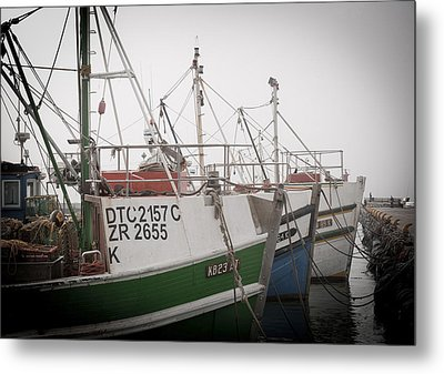 Fishing Boats Metal Print by Tom Hudson