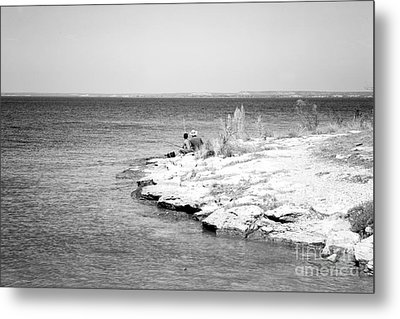 Metal Print featuring the photograph Fishing by Erika Weber