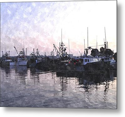 Fishing Fleet Ffwc Metal Print by Jim Brage