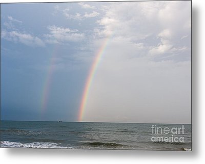 Fishing For A Pot Of Gold Metal Print