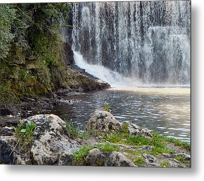 Metal Print featuring the photograph Fishing Hole by Deb Halloran