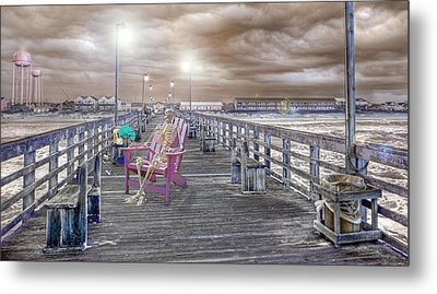 Fishing Rules Metal Print by Betsy Knapp