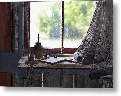 Fishing Shack 2 Metal Print