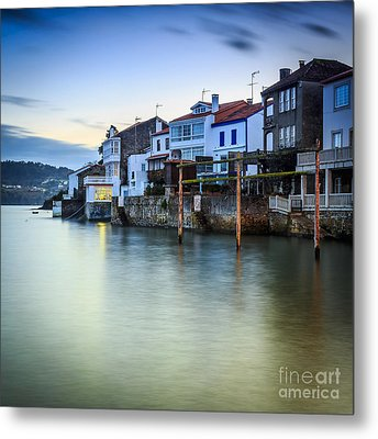 Fishing Town Of Redes Galicia Spain Metal Print by Pablo Avanzini