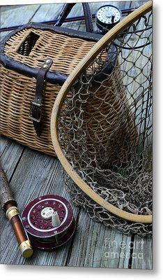 Fishing - Trout Fishing Metal Print
