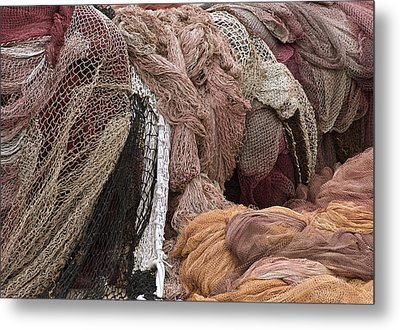 Fishnets Metal Print by Frank Tschakert