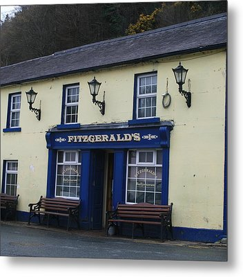 Fitzgeralds  Pub From Ballykissangel Metal Print