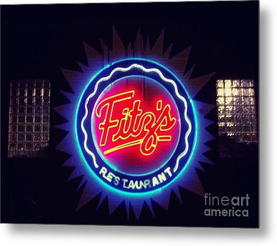 Fitz's Restaurant 2 Metal Print by Kelly Awad