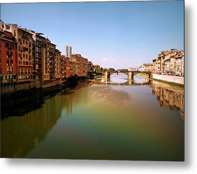 Metal Print featuring the photograph Fiume Di Sogni by Micki Findlay