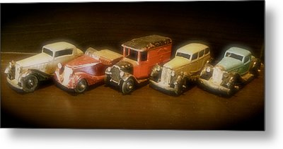 Five Toys From The Forties Metal Print