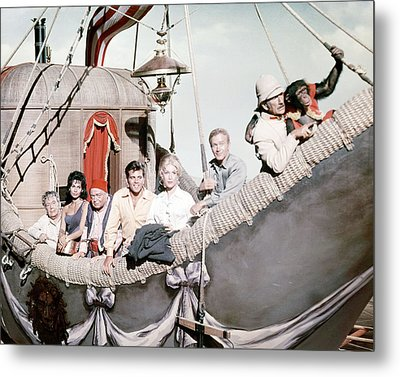 Five Weeks In A Balloon  Metal Print by Silver Screen
