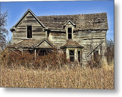 Fixer Upper Metal Print by Ron Roberts