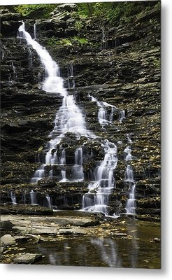 Fl Ricketts Falls Metal Print