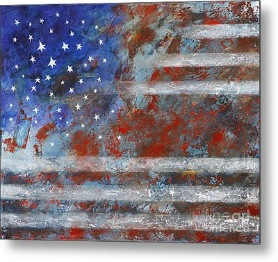 Flag 2012 Metal Print by Eva Hoffmann