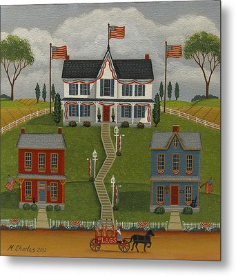 Flag Day Metal Print by Mary Charles