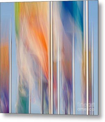 Flags Metal Print by Uma Wirth
