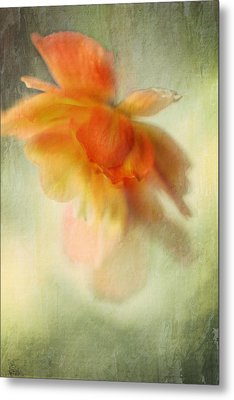 Flame Metal Print by Annie Snel