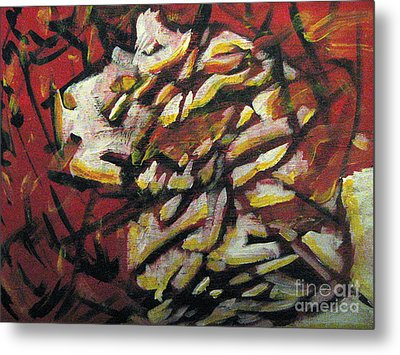 Flame-hearted Metal Print by Wendy Coulson