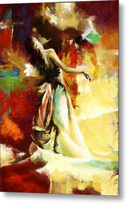 Flamenco Dancer 032 Metal Print by Catf
