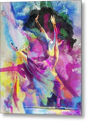 Flamenco Dancer Metal Print by Catf