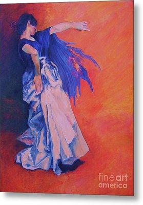 Flamenco-john Singer-sargent Metal Print by Dagmar Helbig