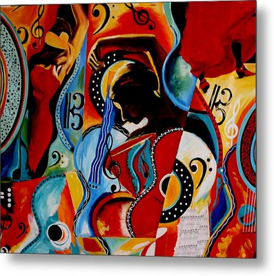 Flamenco Metal Print by Vel Verrept