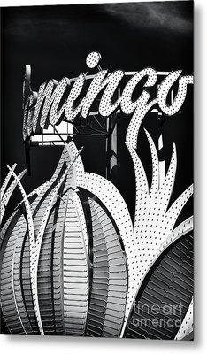 Flamingo Las Vegas Metal Print by John Rizzuto