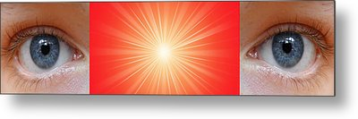 Flash - 1 Metal Print by Philip Ralley