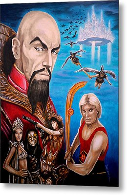Flash Gordon Metal Print by Al  Molina
