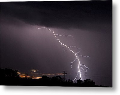 Flash In The Night Three Metal Print