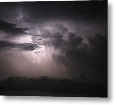 Flashes Of Lightening Metal Print