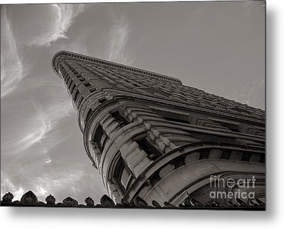 Flat Iron Building Metal Print