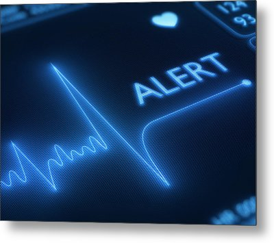 Heart Failure / Health Metal Print by Johan Swanepoel