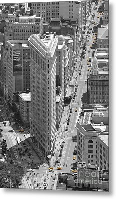 Metal Print featuring the photograph Flatiron Building by Randi Grace Nilsberg