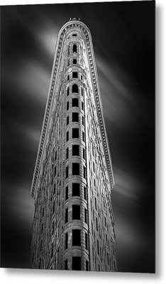 Flatiron Nights Metal Print