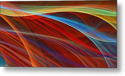 Flaunting Colors Metal Print by Lourry Legarde