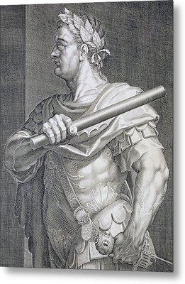 Flavius Domitian Metal Print by Titian
