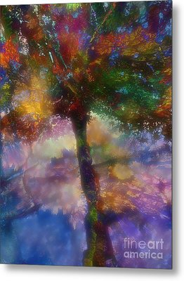 Flavours Of Autumn Metal Print by Klara Acel
