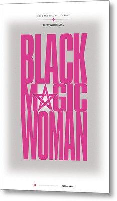 Fleetwood Mac - Black Magic Woman Metal Print