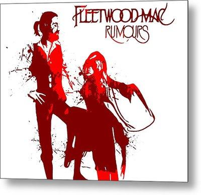 Fleetwood Mac Rumours Metal Print by Dan Sproul